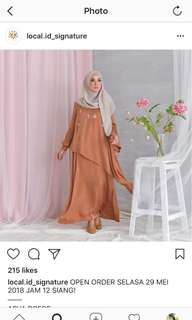 ASVA DRESS/GAMIS/KAFTAN