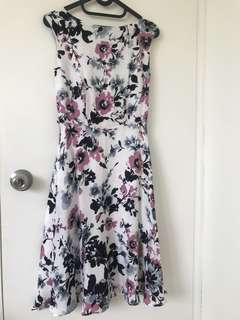 Luxe Floral Midi Dress