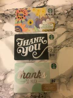 Starbucks Giftcards