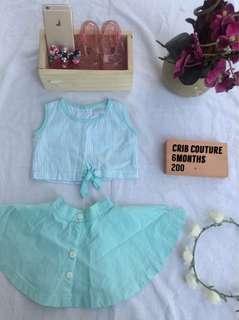Crib couture terno school girl