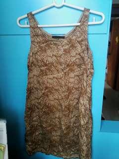 名牌 Daydream Nation 連身裙, 100%絲, 90%新