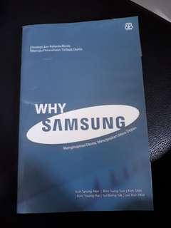 Buku Bisnis: Why Samsung? Menginspirasi Dunia, Menciptakan Masa Depan