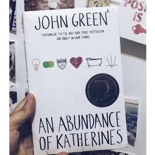 The Abundance of Katherines | John Green