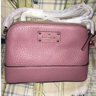 Kate Spade New York Hanna Bay Street Pink Crossbody Bag Tas Branded Authentic Original 100%