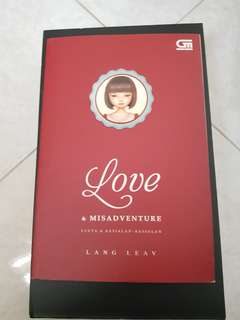 Love and Misadventure by Lang Leav (Indonesian version)