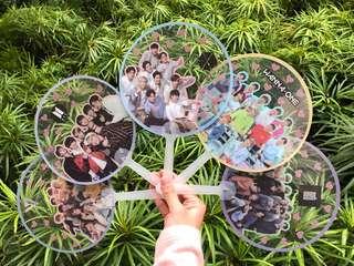 KPOP Transparent Fans
