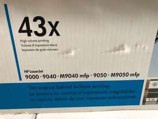 HP laserjet print cartridge - 43x