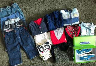 Boy clothes  tops  pants shoses 男仔衫 鞋 褲子 top bottom