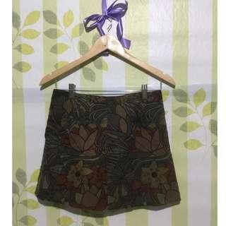 1Meter Printed Mini Skirt