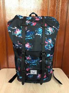 Herschel Little America Floral Blur Backpack