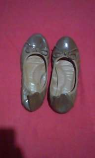 Light brown doll shoes