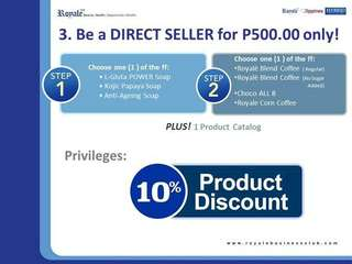 Be Direct Seller in Royale