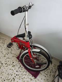 Dahon Eco C6 Foldable Bike