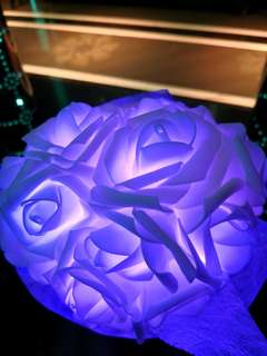 Led flower bouquet