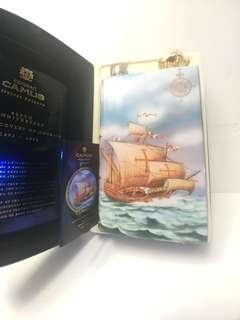 舊酒收藏金花瓷書梵歌系列7ooml(有盒)