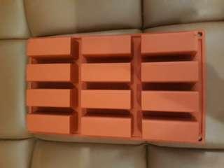 Cetakan kotak silicone