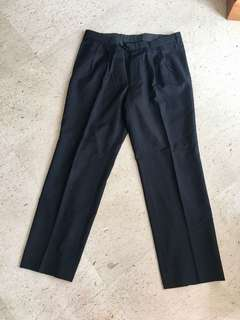 Tailored suit trousers, Italian fabric
