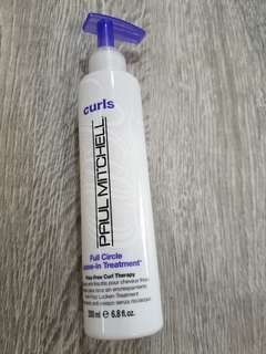 Paul Mitchell curls full leave in treatment permed hair