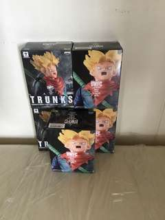 Selling ~ (gold toei sticker) Dragon Ball Z BWFC Vol. 6 Trunks