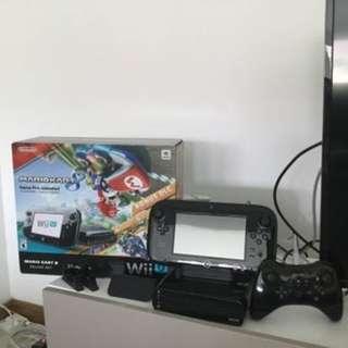 Wii U + Gamer + Controller + 8 games Original