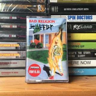 KASET BAD RELIGION SUFFER (impor)