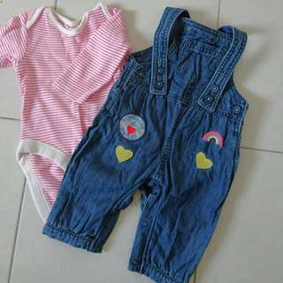 Mark And Spencers Baby Set