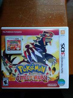 3DS GAMES Pokemon Omega Ruby