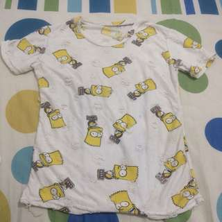 shirt the simpsons