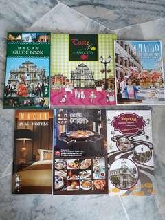 Macau Guide Book & Map
