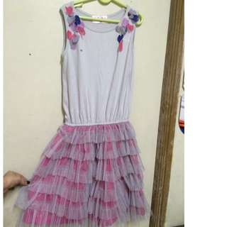 Beautiful tule dress and blouse sold as bundled