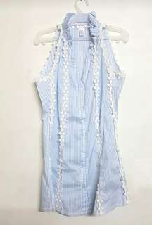 Light Blue Kamiseta Blouse