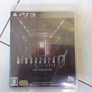 Ps3 Resident Evil 0 Complete Edition