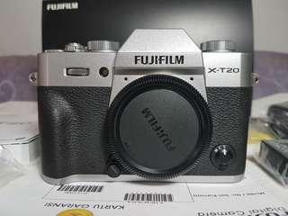 Fujifilm X-T20 Body Only FFID Des18 Bonus