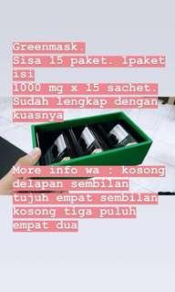 Green mask spirulina