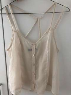 Sheer brandy Melville cami