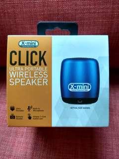 X-mini Click  Bluetooth Speaker