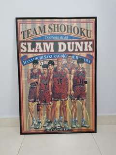 Basketball Fans Slam Dunk Team Shohoku