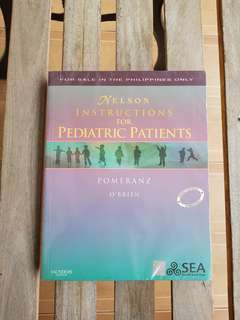Nelson's Instructions for Pediatric Patients