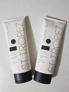 2 x St Tropez Gradual Tanning Medium/Dark