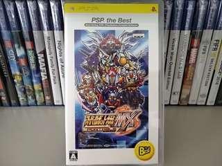 PSP - Super Robot Taisen MX (Japanese Ver.)