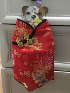 Chinese dress for dog
