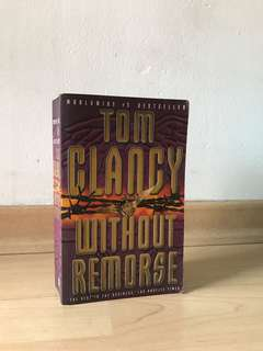 Without remorse -- Tom Clancy
