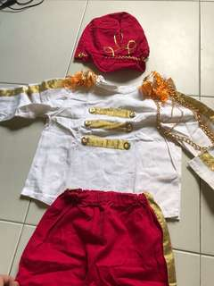 kids french army costume