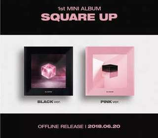 Black Pink first mini album