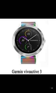 Garmin Vivoactive 3 stainless Steel Strap