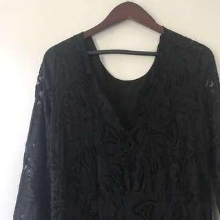 H&M Formal Lace Dress (midi)
