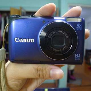 #carousm Canon PowerShot A2200 without Battery and SD Card
