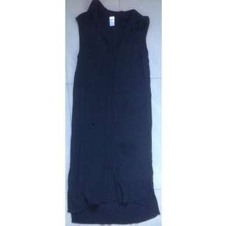 Now Woman's Size 8 Black Mullet Dress (3/4 length) - Brand New