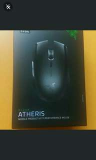 出售全新razer電競專業產品-wireless mouse,mouse pad,L33T pack for gamer