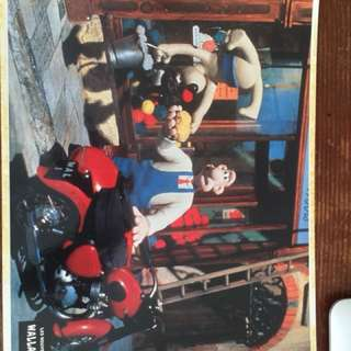 Wallace and Gromit movie still